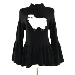Rare Wildfox White Label Black Counting Sheep XS